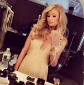 dress,gown,prom dress,prom gown,paris hilton,instagram,long prom dress,bag