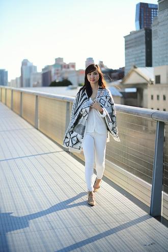 fresh fizzle blogger top jeans bag cardigan