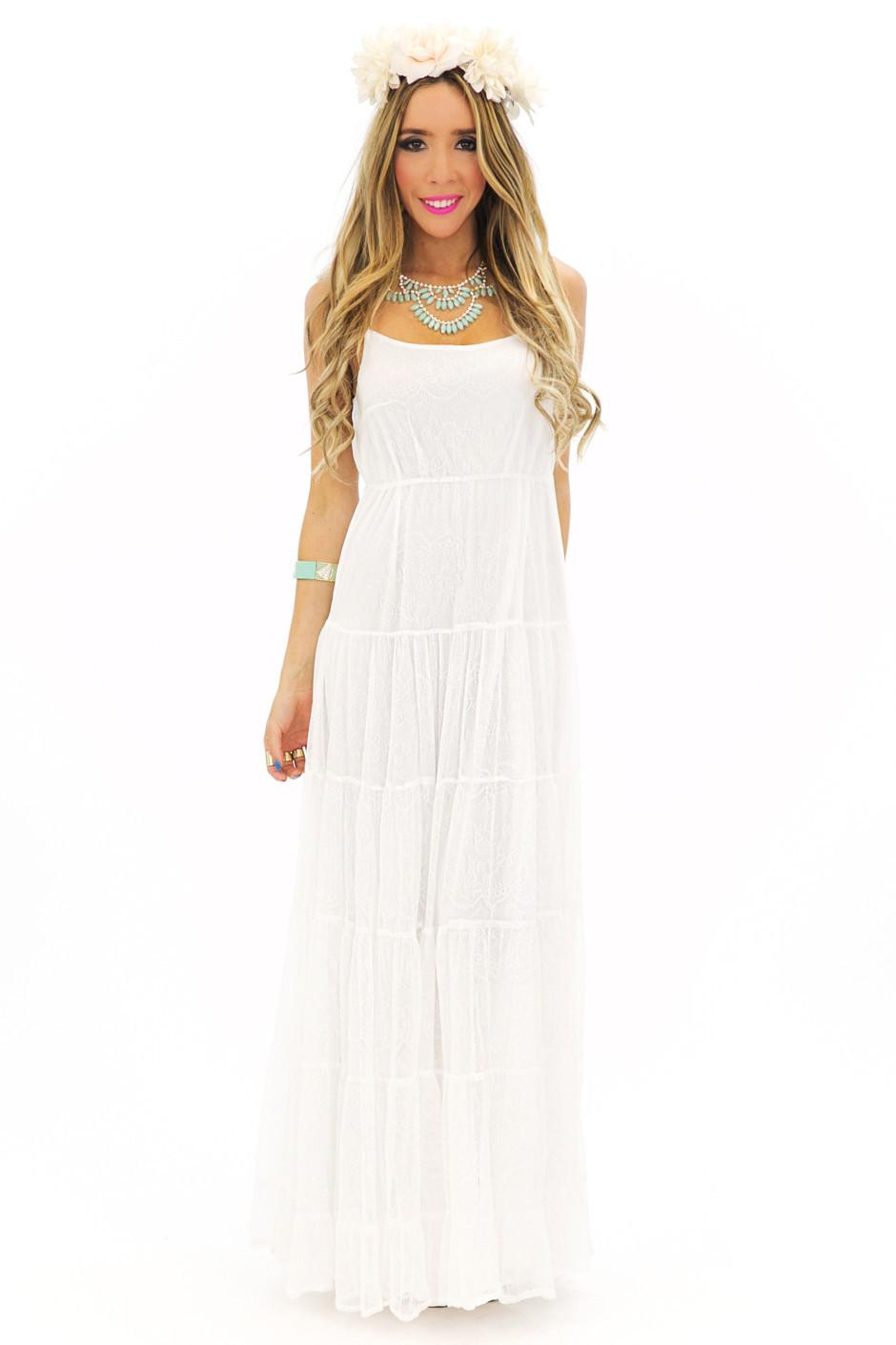 Ester maxi sun dress