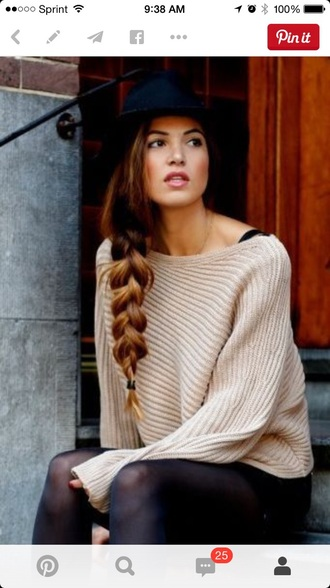 cardigan beige blue skirt hat knitted cardigan navy sweater