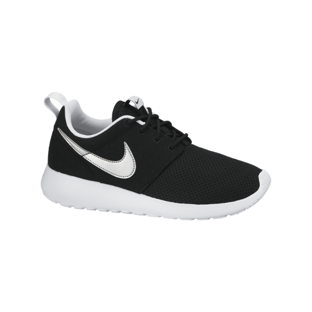 nike roshe run black kids