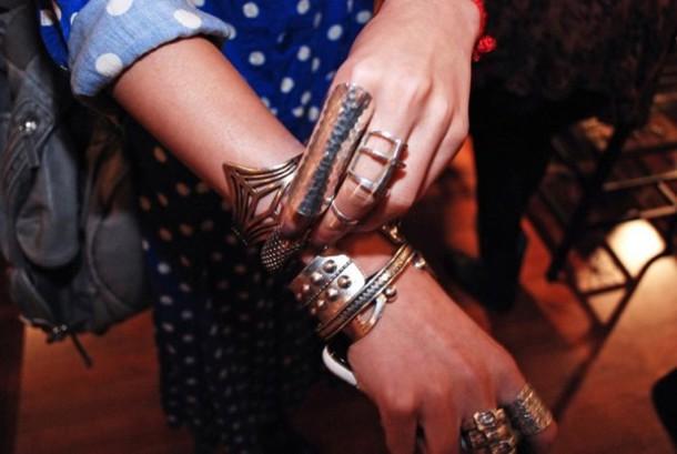 ring silver bracelets cuffs red jewels jewels