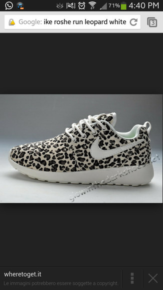 leopard print nikes nike free run shoes cheetah nike