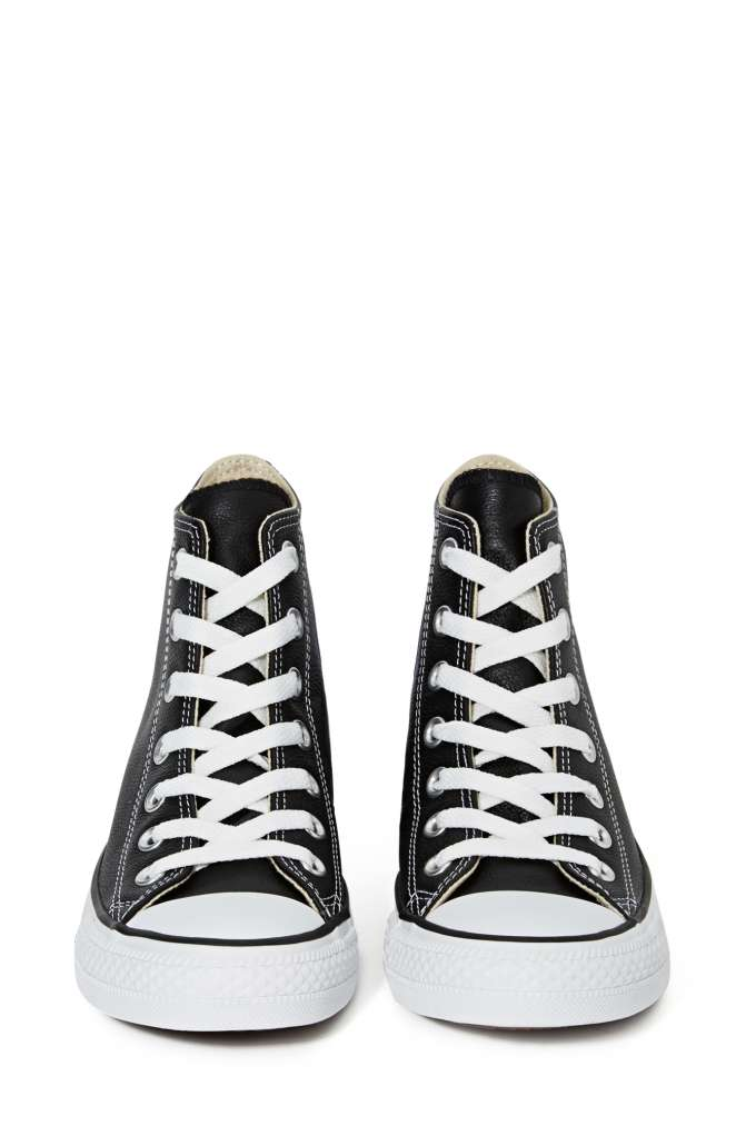 Converse All Star High Top Sneaker Black Leather