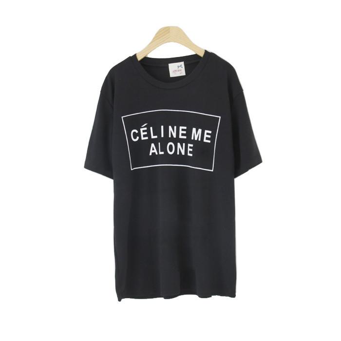 Celine me alone tee / back order – holypink