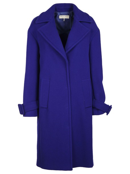 Emilio Pucci coat fit purple pink