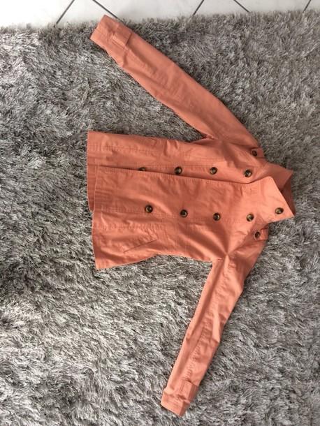 jacket kayla short jacket 2012 vero moda koral size small