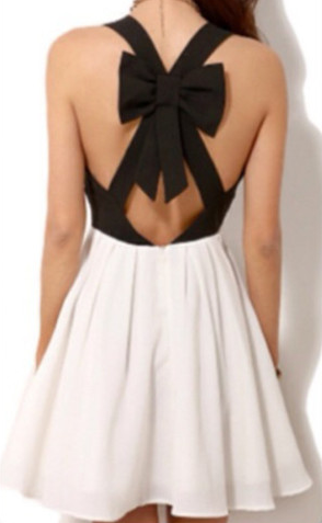 Criss Cross Back Dress - Juicy Wardrobe