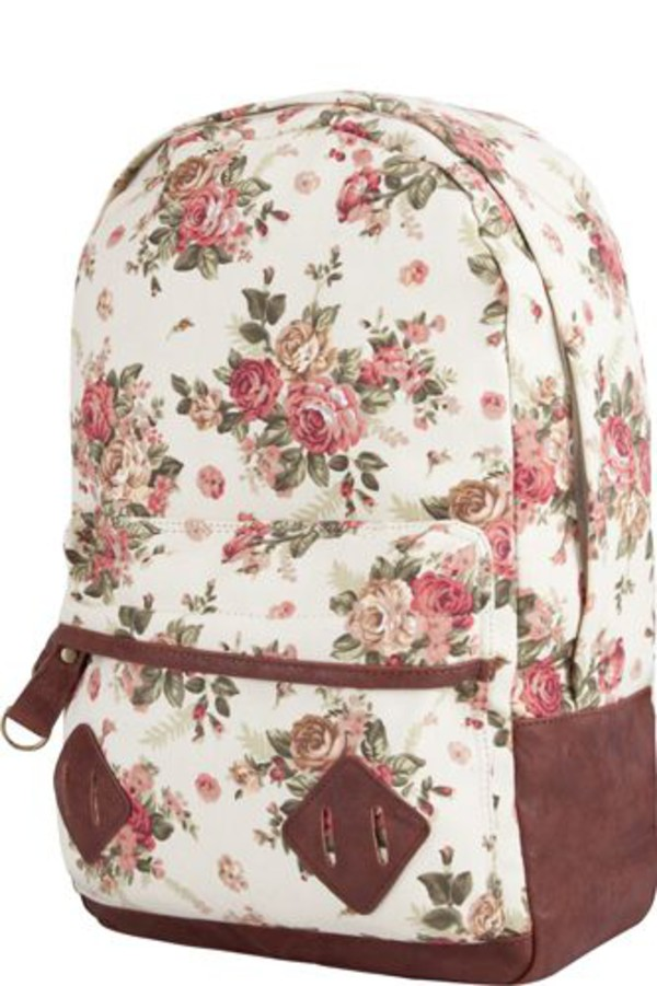 bag backpack floral floral backpack