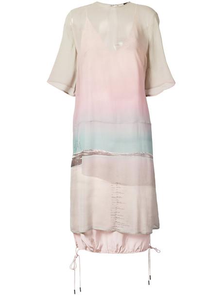 OSKLEN dress women silk