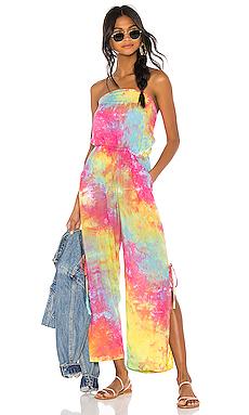 Tiare Hawaii X REVOLVE Osaka Jumpsuit in Tie Dye from Revolve.com