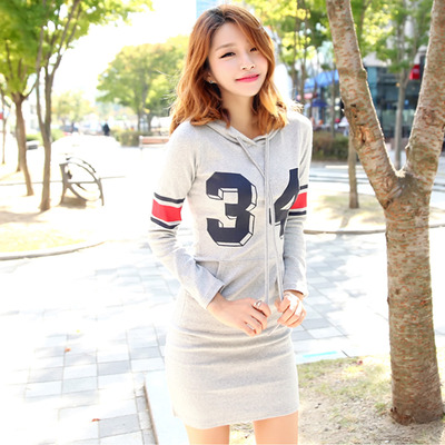 Number 34 hoddie tight dress · Korean Fashion Shop · Online Store Powered by Storenvy