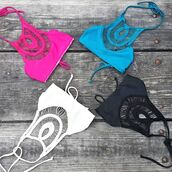 swimwear,crochet,seamless,california bikini,wynwood,miami,miami bikini,shop local,bettini,halter neck,reversible bikini,orchidgal,orchidbtq