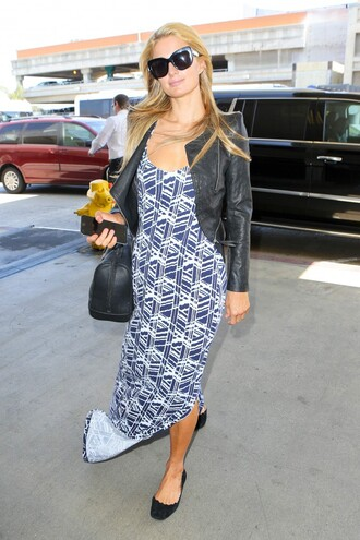 dress maxi dress summer dress paris hilton jacket