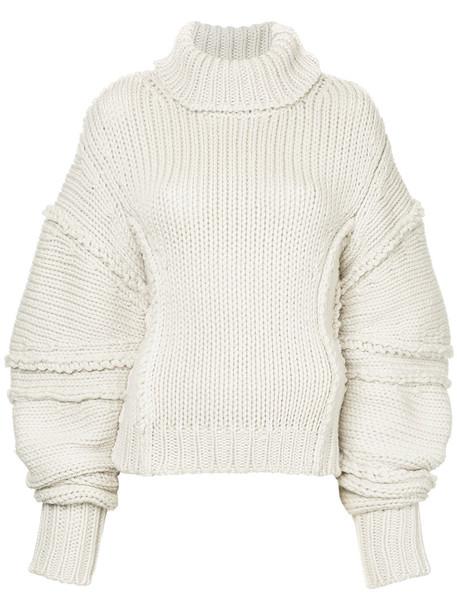 Irene jumper women wool grey sweater