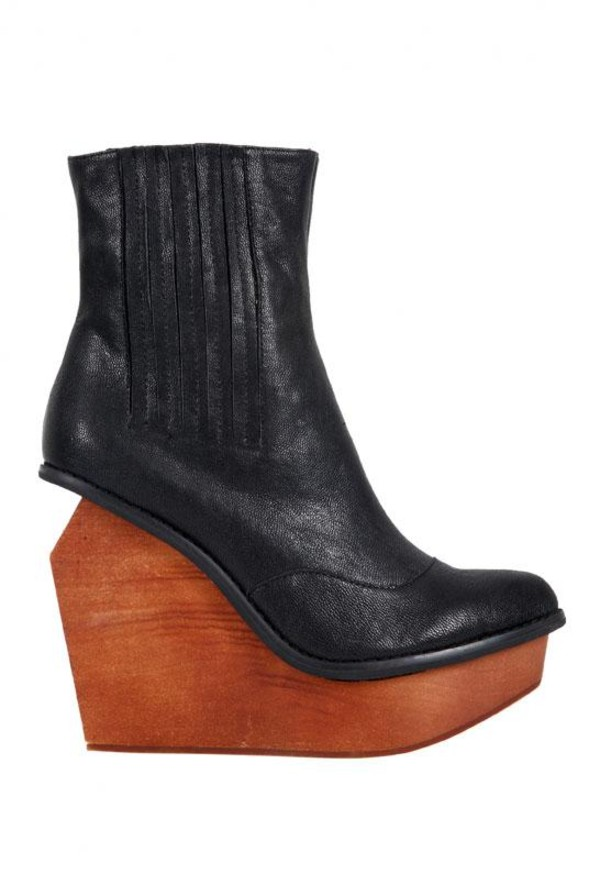 wedges wood black shoes orange shoes shoes