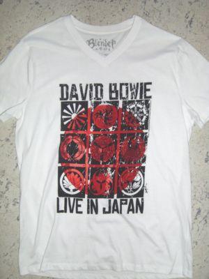 David bowie japan men's v