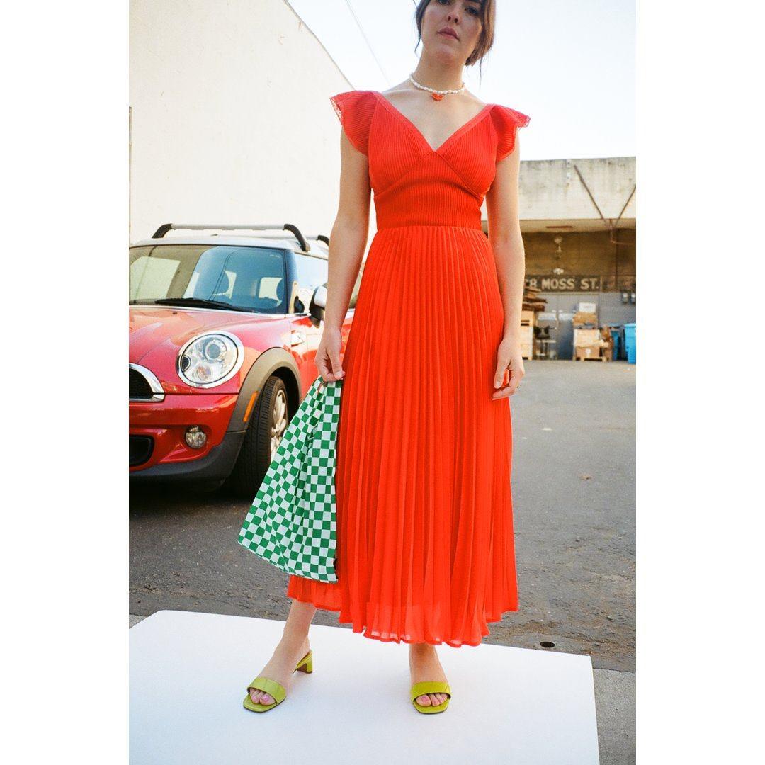 Anoki Dress - Red