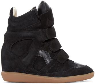 sneakers suede black wedge sneakers shoes