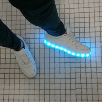 shoes glow in the dark blue white tumblr aesthetic grid light up shoes halsey white shoes grunge pretty top