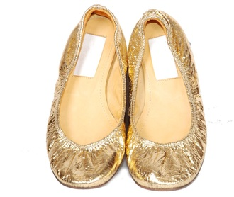 jasmine costume gold flats gold flats shoes aladdin ballet flats metallic shoes