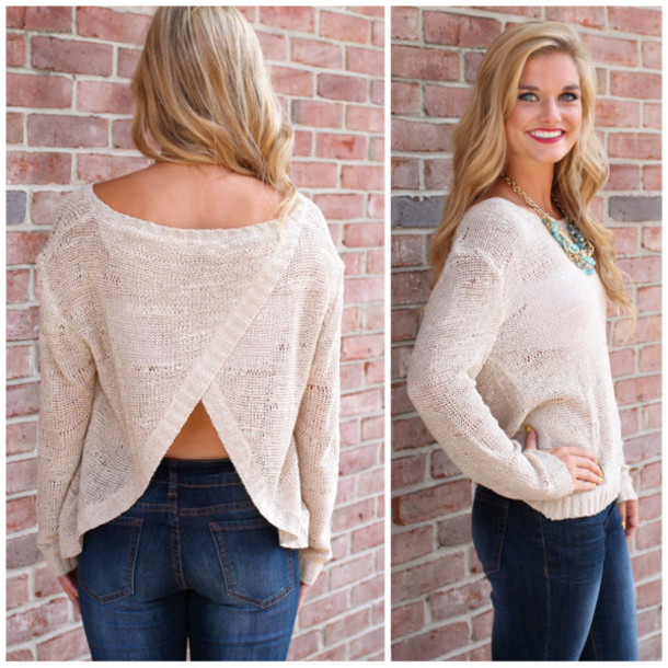 beige fall outfits sweater weather open back slit back comfy fall outfits fall outfits