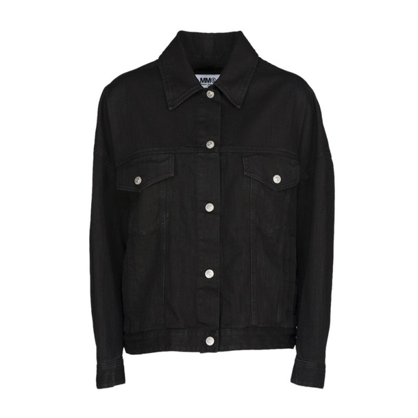 Mm6 Maison Margiela jacket denim jacket denim black