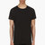 public school black contrast panel t_shirt