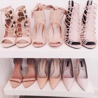 shoes cute classy nice nude heels sandals all all nude everything