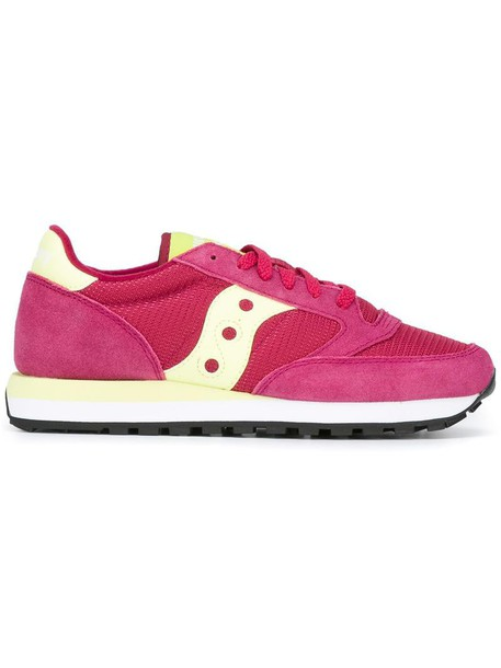 women sneakers lace leather purple pink shoes