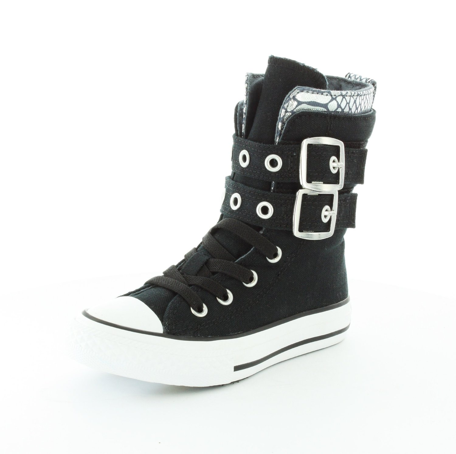 5ce1a8317a91e Amazon.com: Converse Girls Chuck Taylor All Star Glendale Hi-Top Sneaker:  Shoes
