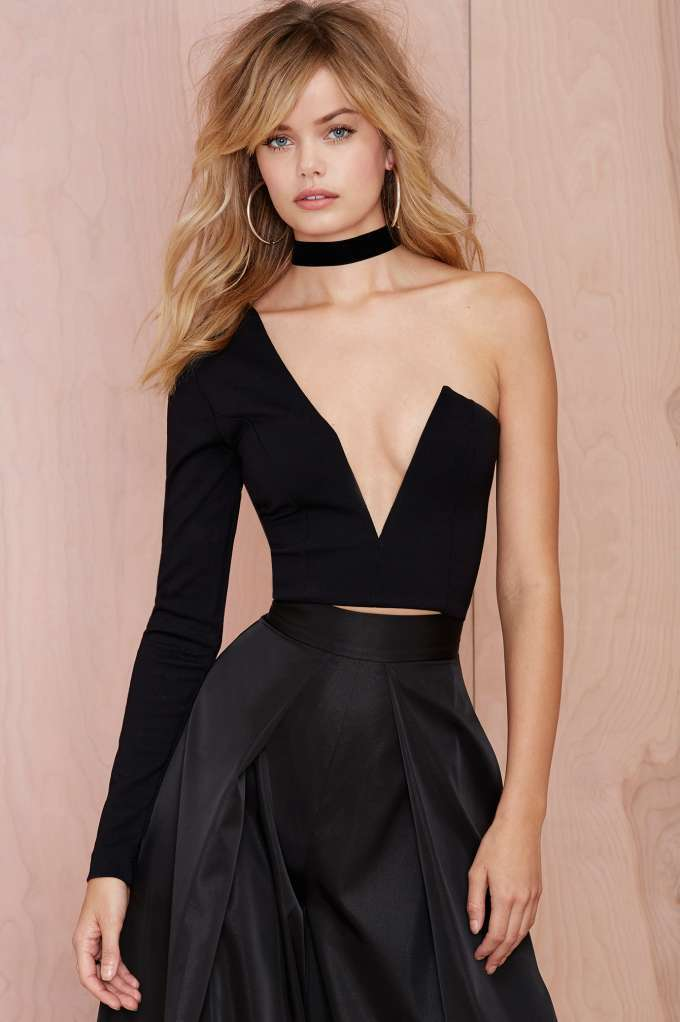 Nasty gal one love crop top