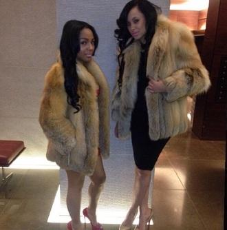 brown fur coat fur jacket fur jacket bear coat beautiful fashion