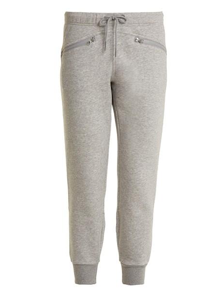 ADIDAS BY STELLA MCCARTNEY pants track pants grey