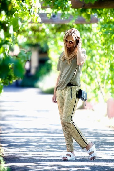 late afternoon shoes bag sunglasses t-shirt