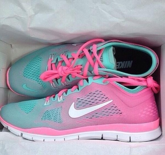 shoes ombre cotton candy running fitness aqua and pink nike run perfect aqua and black pink and blue nikes bright nike blue pink roshe run hot love turkise