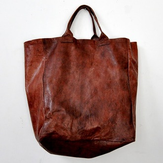 bag leather brown vintage boho hippie hipster