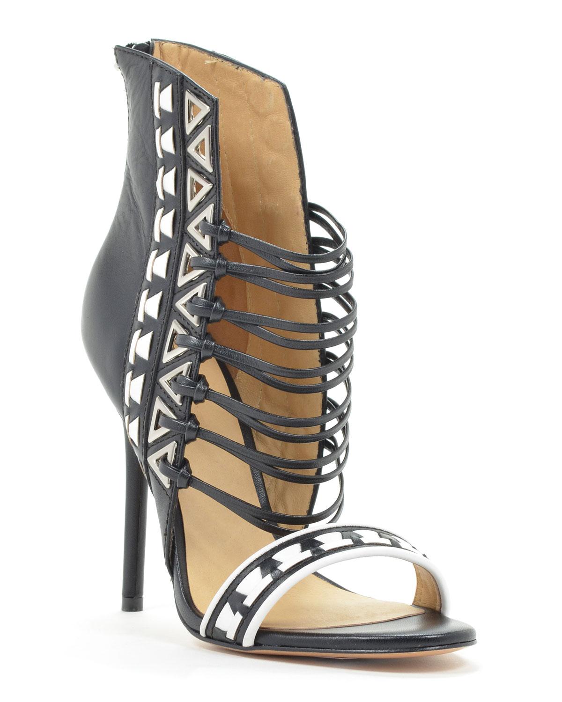 L.A.M.B. Savanna Strappy Heel