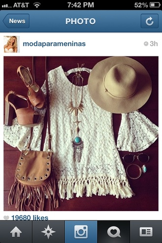dress white dress crochet white white crochet dress crochet dress fringes fringed dress hippie hippie chic boho 3/4 sleeves bell sleeves tunic crochet tunic