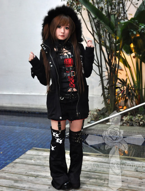 Jacket Creepy Cute J Fashion Punk Goth Kowaii Visual