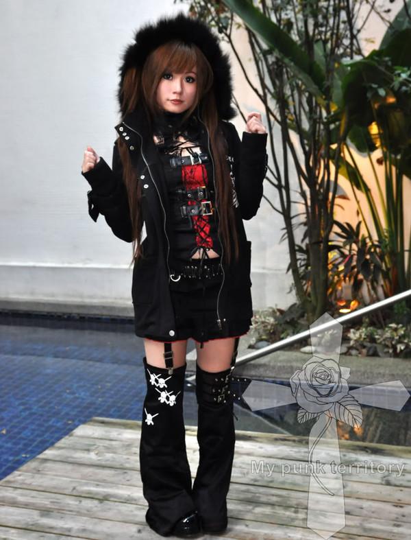 Jacket Creepy Cute J Fashion Punk Goth Kowaii Visual