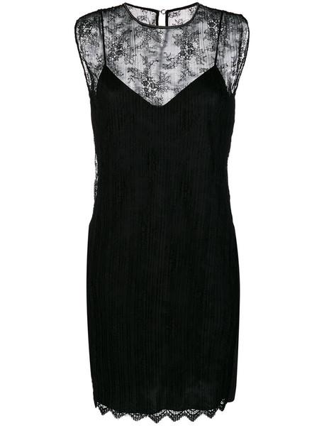 Alexander Wang dress shift dress women lace black