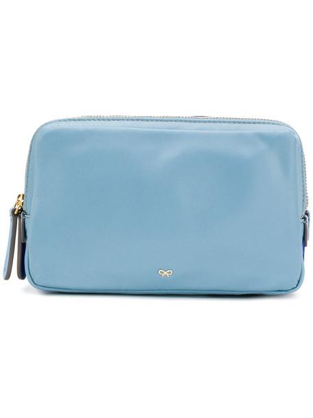 Anya Hindmarch women triple bag blue