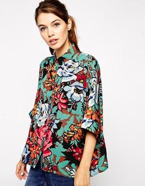 floral blouse   ASOS