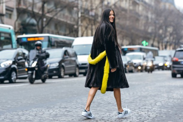 coat black yellow