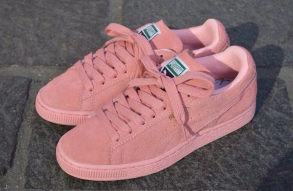 the best attitude 23eb7 81830 puma suede men pink