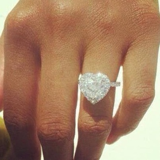 jewels ring luxury heart ring diamonds