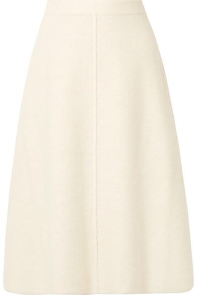 Co - Alpaca and wool-blend midi skirt