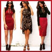 dress,one nation clothing,partywear,lace dress,lace up dress,burgundy dress