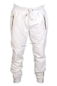 New Genuine 100 Sheep Leather sweat Running Jogging Pants Men Women Unisex SP3 | eBay
